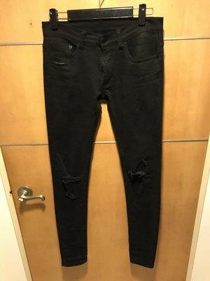 Next Mob Riot NEXTMOBRIOT Distressed Skinny Jeans