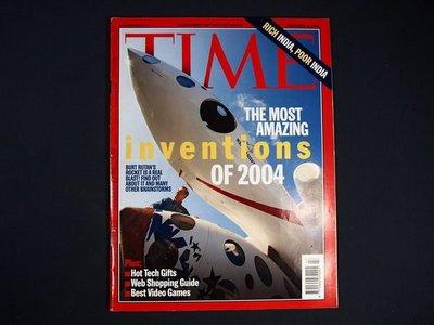【懶得出門二手書】英文雜誌《TIME 2004.12.06》THE MOST AMAZING