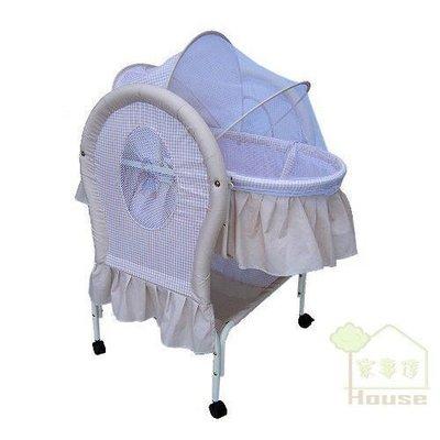 [ 家事達 ] Mother's Love -BC-291 嬰兒平搖提籃嬰兒床--咖啡色 特價