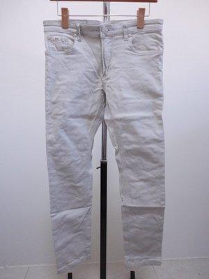 99元起標~UPSET JEANS~無印設計休閒長褲~SIZE:32(偏小版)