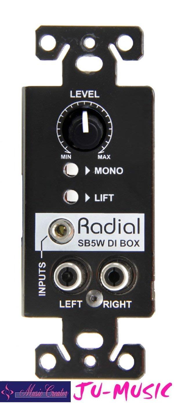 造韻樂器音響- JU-MUSIC - StageBug SB-5W DI 無需電源 『公司貨,免運費』
