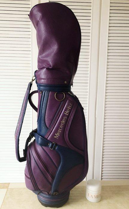Mercedes-Benz  限量葡萄紫🍇高爾夫桿袋球袋