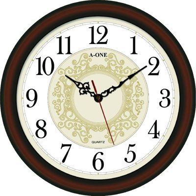 A-ONE典雅圖紋 時鐘 台灣製造超靜音掛鐘 居家擺設必備 時尚空間百搭【網路最低價↘】TG-0575