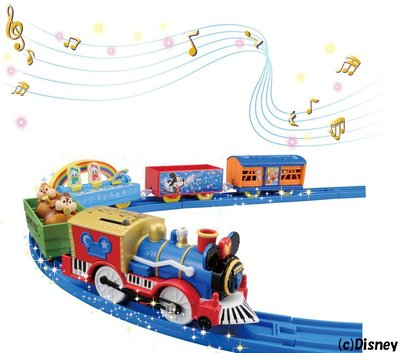 迪士尼米奇老鼠火車 Disney Dream Railway Mickey Mouse & Friend Toy Train Takara Tomy