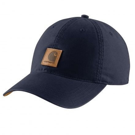 ☆AirRoom☆【現貨】CARHARTT 102427-400 老帽 深藍 卡其帽簷 皮標 魔鬼氈 現貨