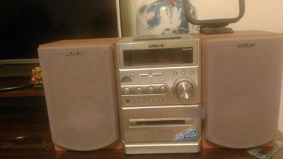 SONY床頭音響20Wx20W,MP3,