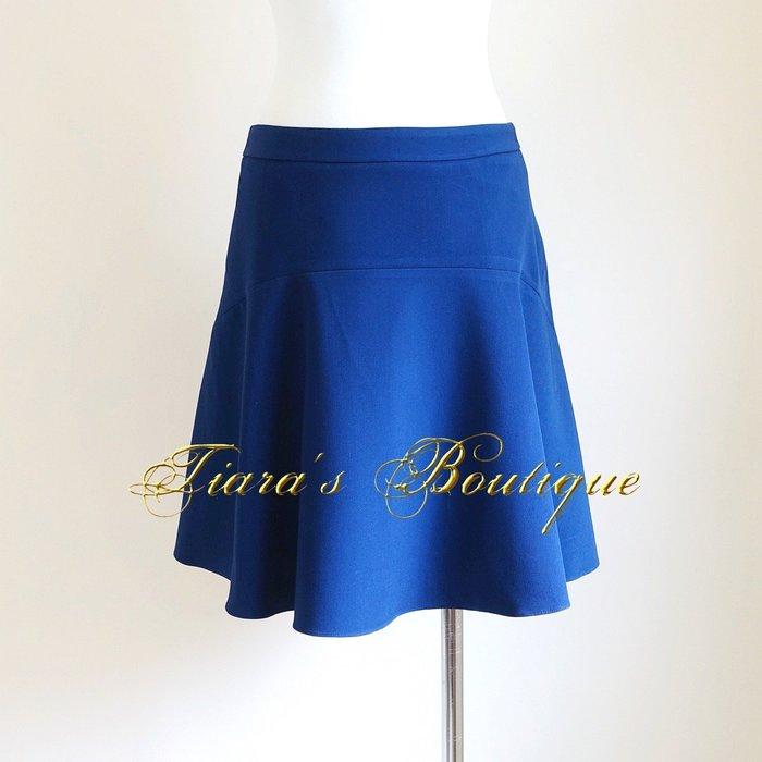 G2000 WOMAN 亮麗寶藍色 俏皮波浪短裙 (239)