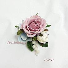 絲花襟花玫瑰CA20結婚花球婚禮長輩兄弟姐妹花藝花店