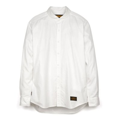 NEIGHBORHOOD Shawl. OX / C-Shirt. LS White 19SS 長袖 白襯衫 圓領