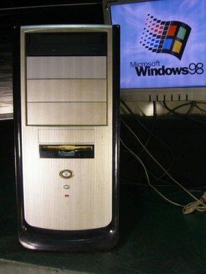 【窮人電腦】跑Windows 98系統!自組聯強有ISA插槽電腦主機出清!雙北可親送外縣可寄!