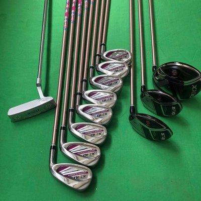 西西 小鋪 新款新款女士高爾夫球桿套裝XxioMP1100鐵桿組一號木golf clubs