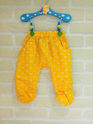 (現貨100~140cm)童夏季點點風七分褲