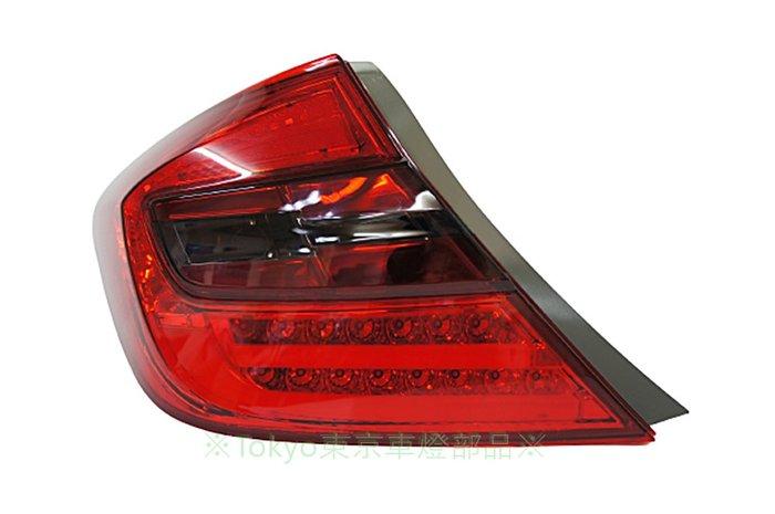 ※Tokyo東京車燈部品※ 喜美9代 K14 CIVIC 13 14 15 類F10 LED光柱光條紅黑尾燈組 特價中