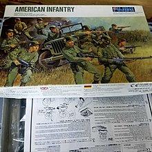 絕版-Fujimi-GI-American army-1/76-加4元-M-599