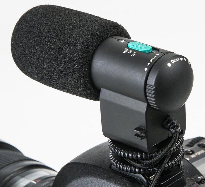 呈現攝影-ROWA RW-MIC109 指向性麥克風 新一代超小型 高感度 90°/120 ° 心型指向