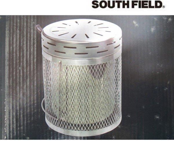 丹大戶外【SOUTH FIELD】不鏽鋼木炭寒流禦寒必備暖爐/木炭爐/炭火爐/過年圍爐/燃燒木炭