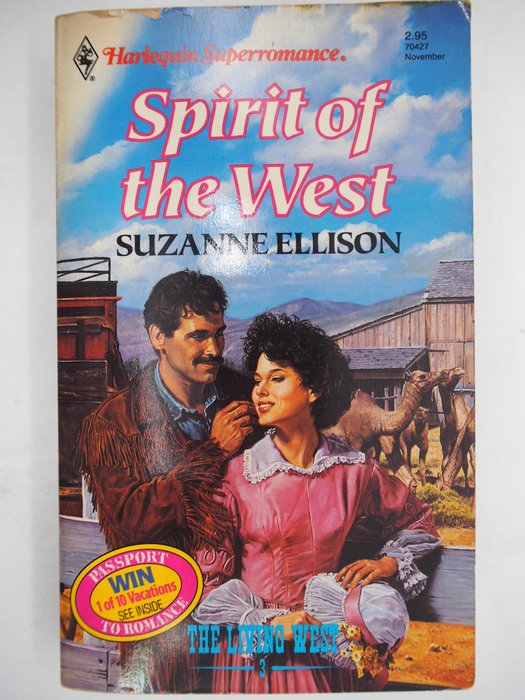 【月界二手書店】The Spirit of the West(絕版)_Suzanne Ellison 〖外文小說〗CJO