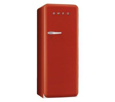 唯鼎國際【義大利smeg復古冰箱】 Red 經典紅色復古冰箱