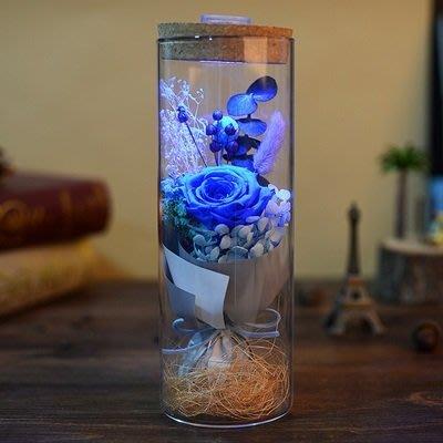 永生花束玫瑰花(1入)-不凋花發光LED燈浪漫禮物擺飾5款73pp403[獨家進口][巴黎精品]