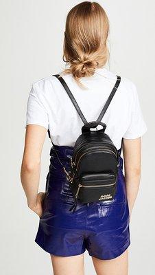 ╭☆包媽子店☆Marc Jacobs Micro Backpack 迷你款真皮背包((灰色))