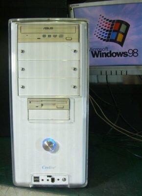 現貨【窮人電腦】適合切割系統!華碩Win98工業主機出清!外縣可寄!