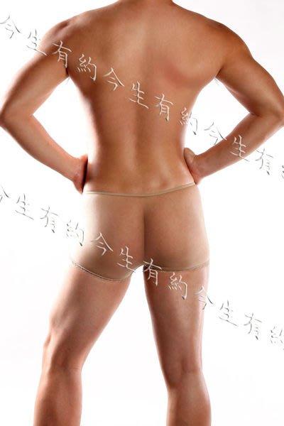 今生有約【G02】【輕薄透明無縫平角絲襪內褲】 男女適用※白色/膚色/黑色