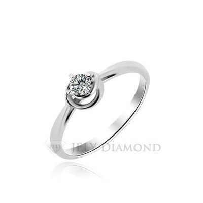 《JELY時尚館》【JELY Diamond】BALANCE---10分天然真鑽石戒指 §會員終生獨享交換維修優惠§