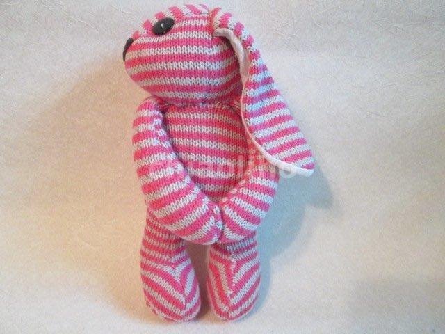 日本進口~兔兔造型毛線娃娃