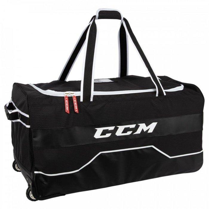 CCM 370-33吋 曲棍球拉桿輪子球具袋 裝備袋 冰球直排皆可用 適合青少年冰球直排或成人直排使用 少量到貨剩6個