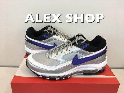 艾力克斯 NIKE AIR MAX 97BW 男 AO2406-002 黑銀藍白 全氣墊 慢跑鞋 ㄇ78