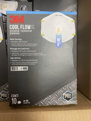 3M COOL FLOW MASK N95 3M N95口罩