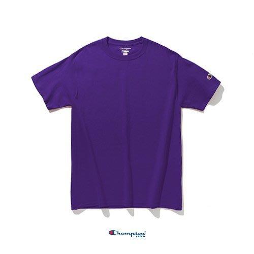 Champion T425 6.1oz 素TEE/  紫色