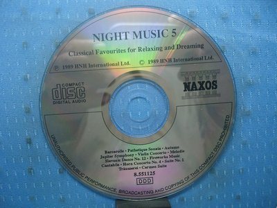 [無殼光碟]BG Night Music 5: Classical Favourites for Relaxing