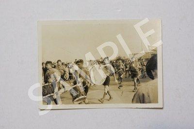 台灣 早期 台北 童子軍 遊行 老照片