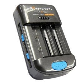 ROWA‧JAPAN萬用型快速充電器(支援USB、3/4號電池、鎳氫電池、iPhone/iPad充電)