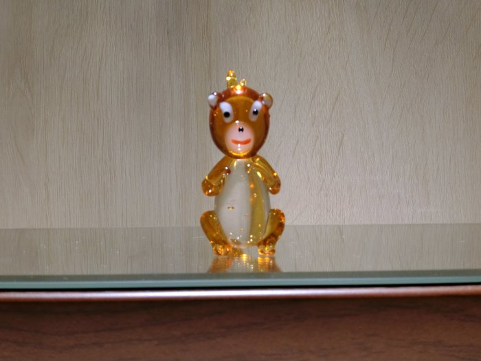 【藝晶香琉璃藝術工坊】手工琉璃可愛小猴子、擺飾、藝術品