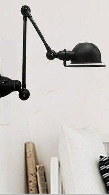 【SUN LIGHT 日光燈坊】法國號小款雙節壁燈 ,另工業復古磚牆布罩嫩苗波斯菊PH5松果設計師French Horn