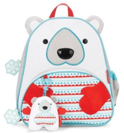㊣USA Gossip㊣ Skip Hop Zoo Winter Backpack 動物造型背包 (雙肩/後背)