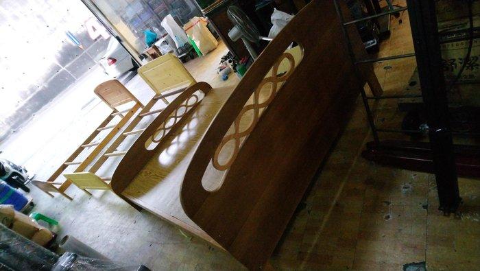 ㊖搬家寄倉=更新二手倉庫㊖中古5尺標準雙人床床架床框組合床~双收.購回收家具家電