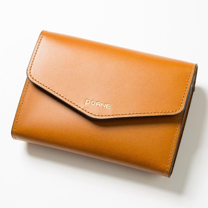 〖洋碼頭〗韓國原產POANE牛皮信封式卡包簡約柔軟錢包潮流真皮箱包女包 L3166