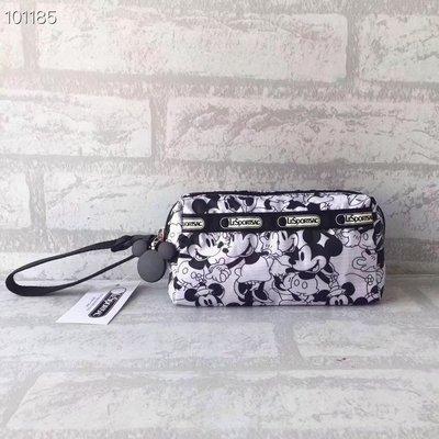 凱莉代購  LeSportsac  超大容量 雙層 手繩 化妝包 收納包 旅行包 8160 (預購)