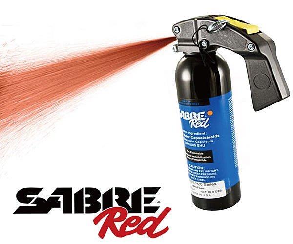 【犀利防衛】美國Sabre沙豹防身噴霧-水柱鎮暴型YS-92H2O60