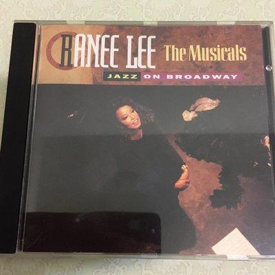 *愛樂熊貓*早期加拿大版(無IFPI)Ranee Lee/The Musicals:Jazz on Broadw