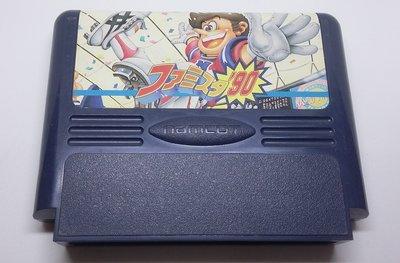 任天堂    正日本原版 遊戲卡帶 ~     ファミスタ'90   , 任天堂   FC   紅白機