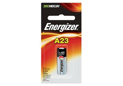 卓藝冲印 原裝勁量Energizer A23 / 23A 鹼性電池 12V 遙控、車匙、門鐘用