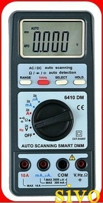 ☆SIVO蘋果商城☆台灣製 SEW 6410DM/ST-6410 DM 數位式三用電表