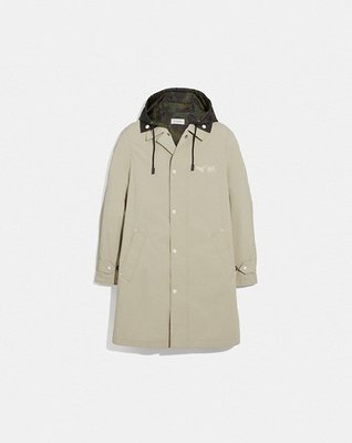 COACH Men Rexy And Carriage Coat With Hood