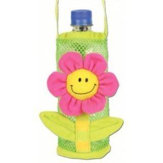 【小糖雜貨舖】美國 Stephen Joseph 兒童 造型 水壺袋 水壺背帶 - 花朵 (膳魔師/吸管水壺皆適用)