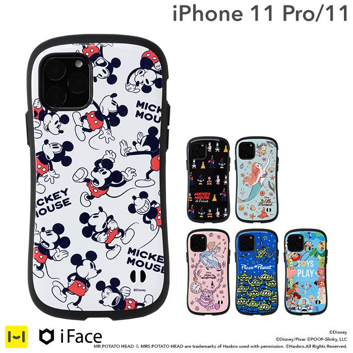 《FOS》日本 iFace iPhone 11 Pro 迪士尼 手機殼 女生 可愛 保護殼 防震 防摔 防刮 Qi充電