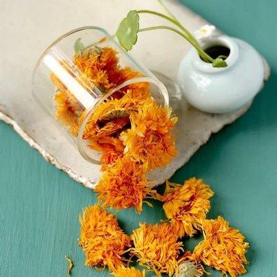 金盞花?花草茶、精選品質香氣更濃郁、美麗從喝茶開始